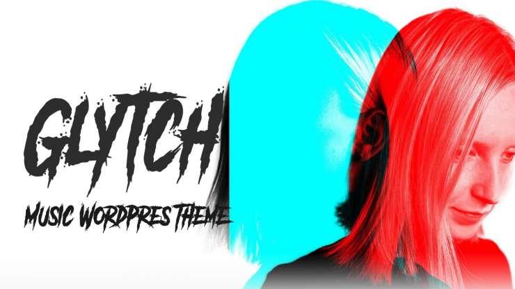 glitch webdesign színek