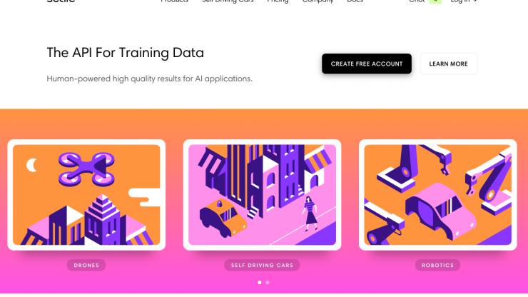 webdesign árnyékok és élénk színek